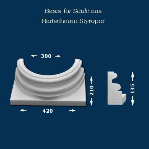 """Wiesemann - unbeschichtet Säulenbasis """"Wiesemann SB18"""" - unbeschichtet"""