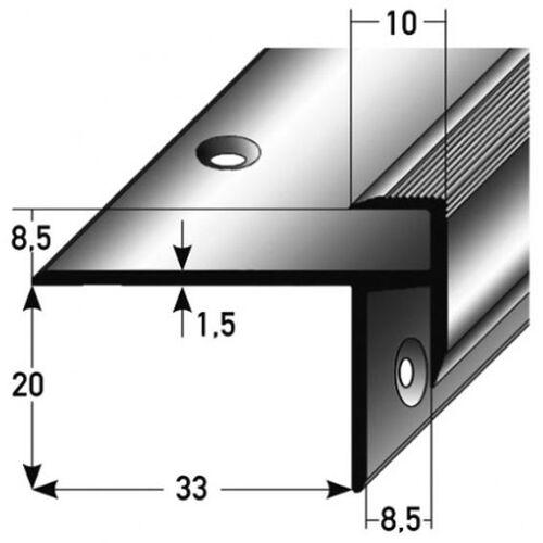 """AUER Laminat-Treppenkante """"Lively"""" / Winkelprofil, Einfasshöhe 8,5 mm,..."""