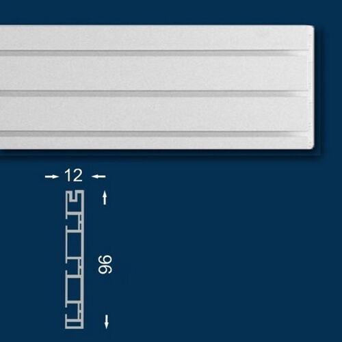Wiesemann Vorhangschiene / Gardinenschiene 120 cm, Dreiläufig, Kunststoff