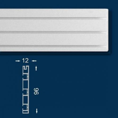 Wiesemann Vorhangschiene / Gardinenschiene 200 cm, Dreiläufig, Kunststoff