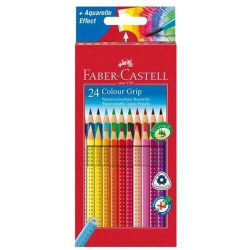 Faber-Castell - Buntstifte Colour Grip, 24-tlg.