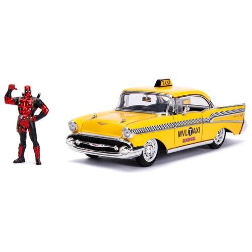 Marvel Deadpool - Taxi Automodell mit Figur