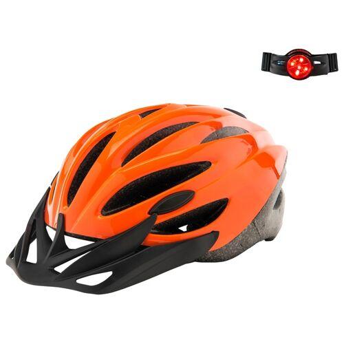 Fahrradhelm Orange M 52-56cm