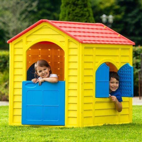 Mein erstes Spielhaus, gelb