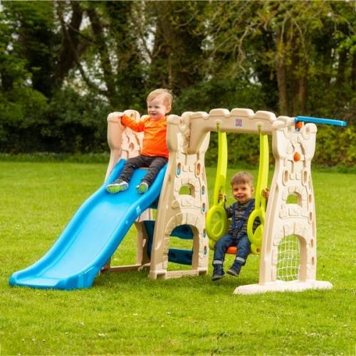 Grow'n Up - Scramble N Slide Playcenter mit Rutsche