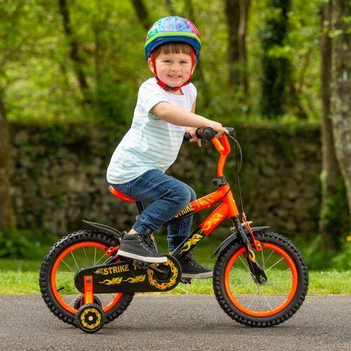 14 Zoll Kinderfahrrad Strike, orange