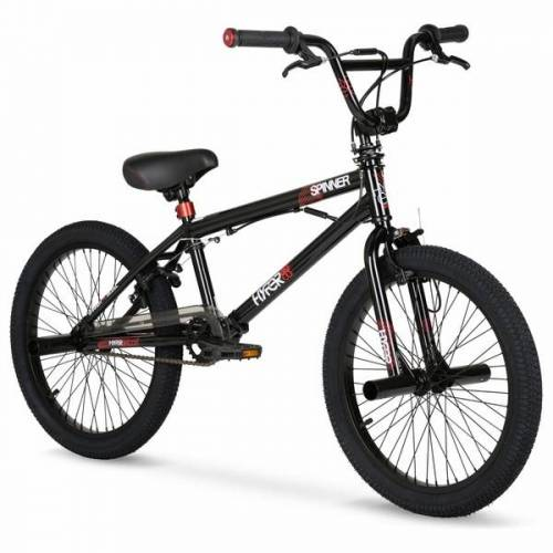 20 Zoll BMX Fahrrad Hyper Spinner, schwarz