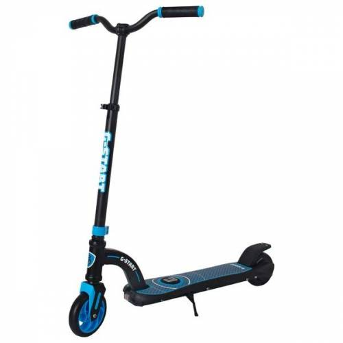 Elektro Scooter G-Start 24V schwarz/blau