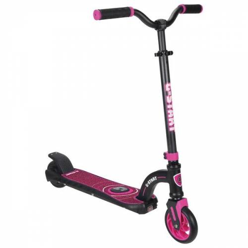 Elektro Scooter G-Start 24V schwarz/pink