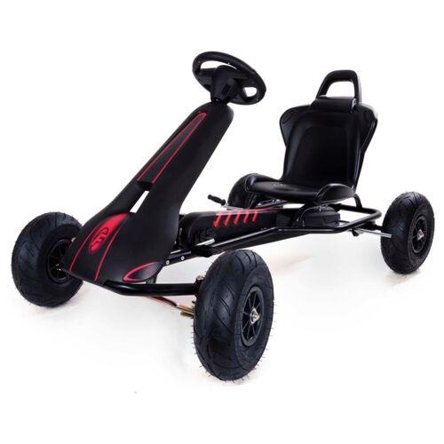Ferbedo 8711 Classic AR8D Go-Cart, Schwarz