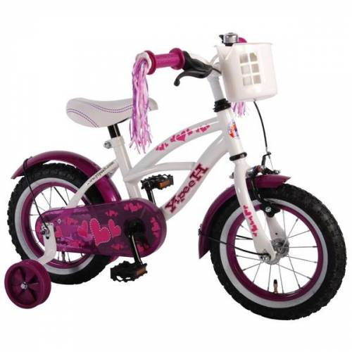 Kubbinga Yipeeh - 12 Zoll Kinderfahrrad Cruiser, pink