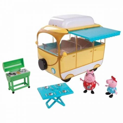 Peppa Pig - Campingbus mit Peppa und Papa Pig