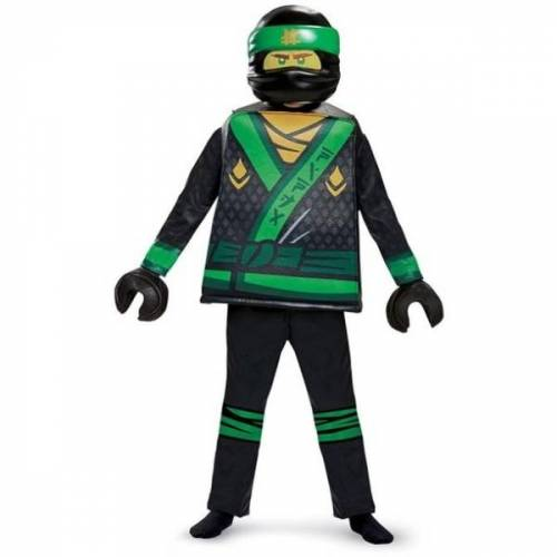 LEGO Ninjago - Kinderkostüm, M.Lloyd Deluxe Kostüm (Gr. S)
