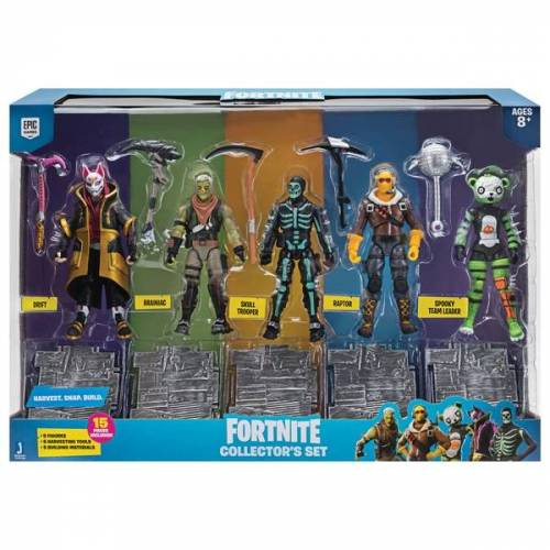 Fortnite Jazwares Fortnite - 5er Pack Figuren, Squad M.