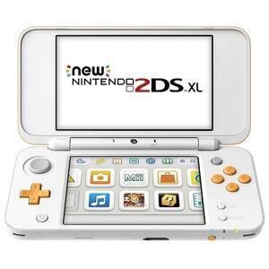 Nintendo 2DS: XL Konsole, weiß/orange
