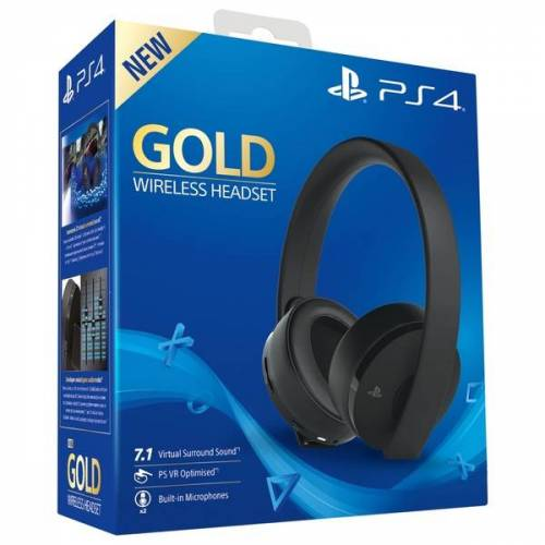 PS4 Wireless-Headset - Gold Edition