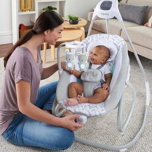 Ingenuity  Simple Comfort Babyschaukel und -wippe Raylan