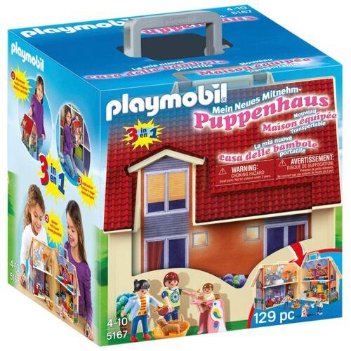 PLAYMOBIL - 5167 Mein Neues Mitnehm-Puppenhaus