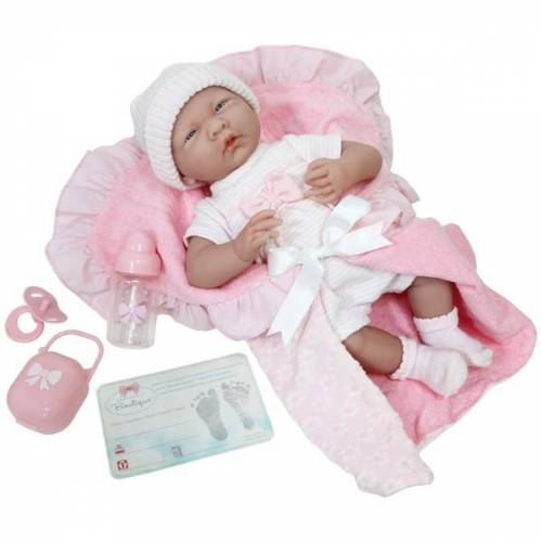 Berenguer - La Newborn Puppe mit Zubehör, 29 cm