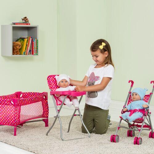 Puppen-Spielset Kinderzimmer
