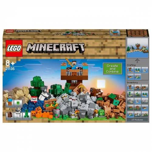 LEGO Minecraft - 21135 Die Crafting-Box 2.0