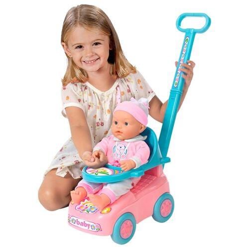 Puppe mit Puppenwagen