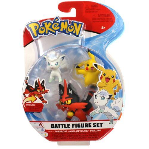 Pokémon - Battle Pack, Miezunder, Alola-Vulpix, Pikachu