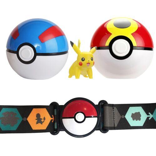 Pokémon - Clip 'N' Go Pokéball Gürtel, Pikachu