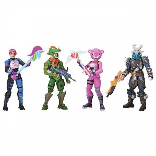 Fortnite Jazwares Fortnite - Squad Mode 4er Figuren Set