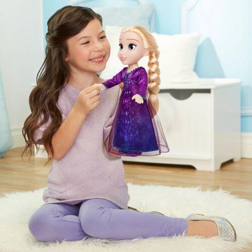 Disney Die Eiskönigin 2 - Funktionspuppe Elsa