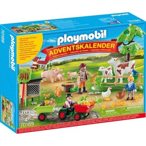 PLAYMOBIL - 70189 Adventskalender: Auf dem Bauernhof