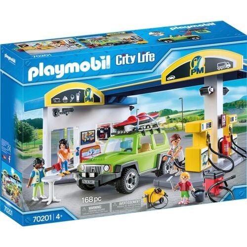 PLAYMOBIL - 70201 Große Tankstelle