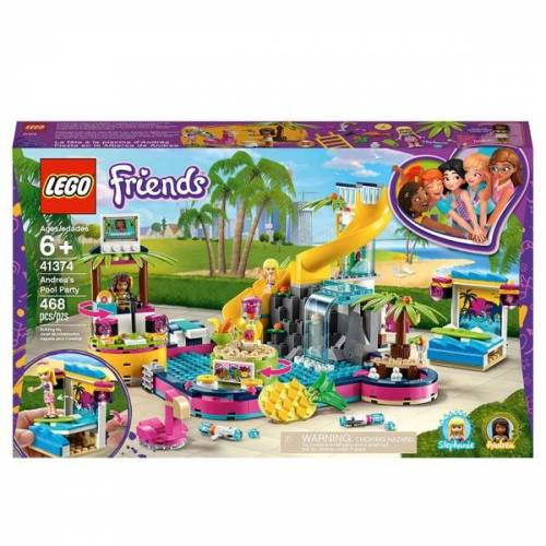 LEGO Friends - 41374 Andreas Pool-Party