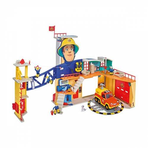 feuerwehrmann sam Simba - Feuerwehrmann Sam: Mega-Feuerwehrstation XXL