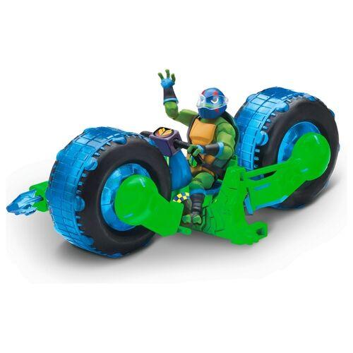 Ninja Turtles Rise of the Teenage Mutant Ninja Turtles - Shell Hog Motorrad, Leonardo