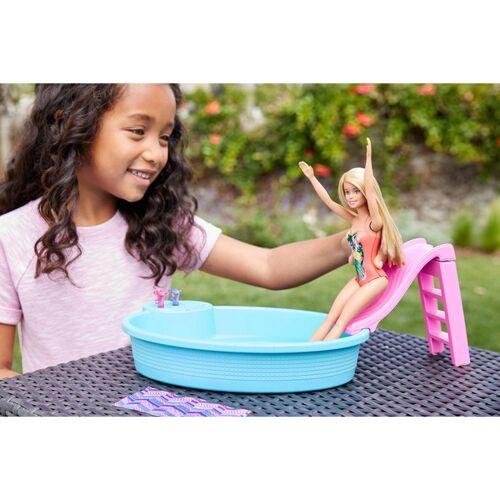Barbie Pool Spielset mit Puppe