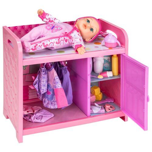 Baby Wickeltisch mit Puppe