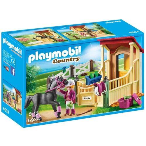 PLAYMOBIL - 6934 Pferdebox Araber