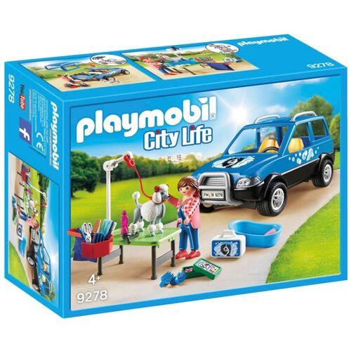 PLAYMOBIL - 9278 Mobiler Hundesalon