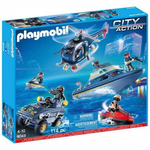 PLAYMOBIL - 9043 S.W.A.T. Mega Set