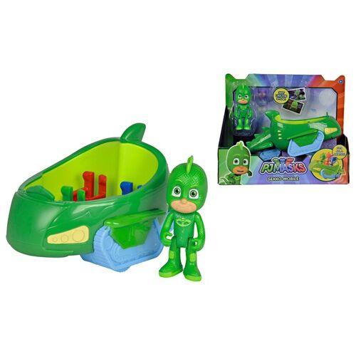 Simba PJ Masks - Gecko mit Geckomobil