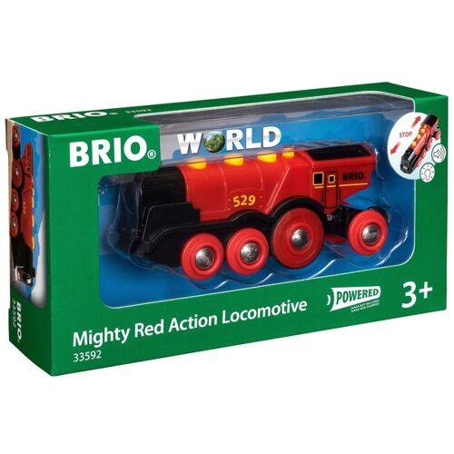 BRIO - Rote Lola, Batterie-Lok