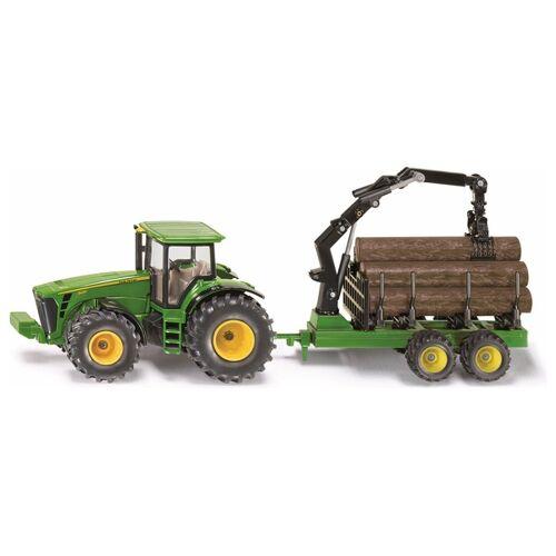 SIKU Farmer - 1954: Traktor mit Forstanhänger, 1:50