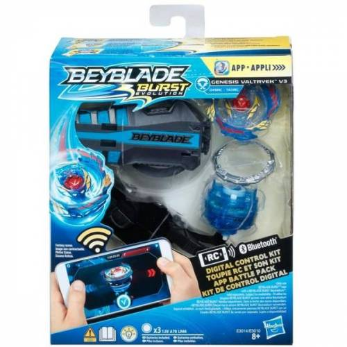 Beyblade Hasbro - Beyblade App Battlepack, Blau