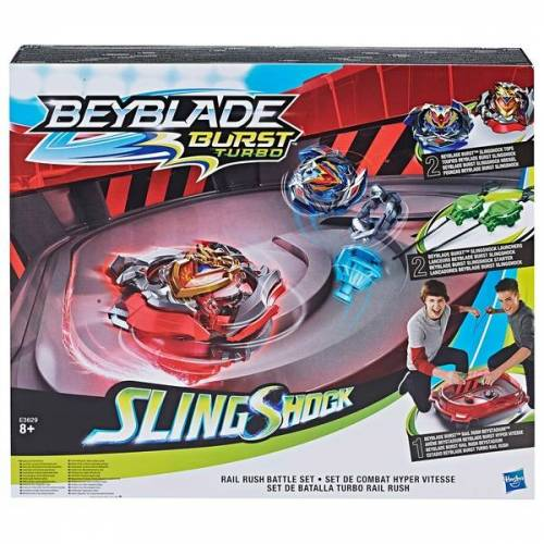 Beyblade - Burst: SlingShock Rail Rush Battle Set
