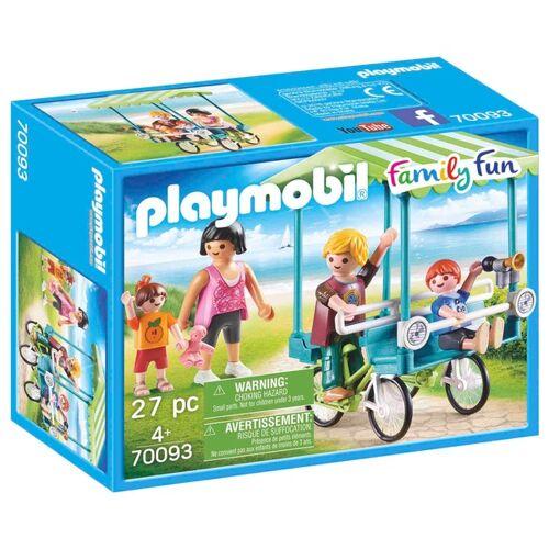 PLAYMOBIL - 70093 Familien-Fahrrad