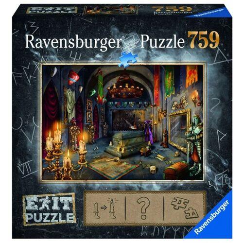 Ravensburger - Exit Puzzle: Im Vampirschloss, 759 Teile