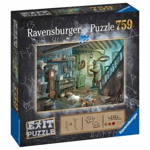 Ravensburger Exit Puzzle: Gruselkeller