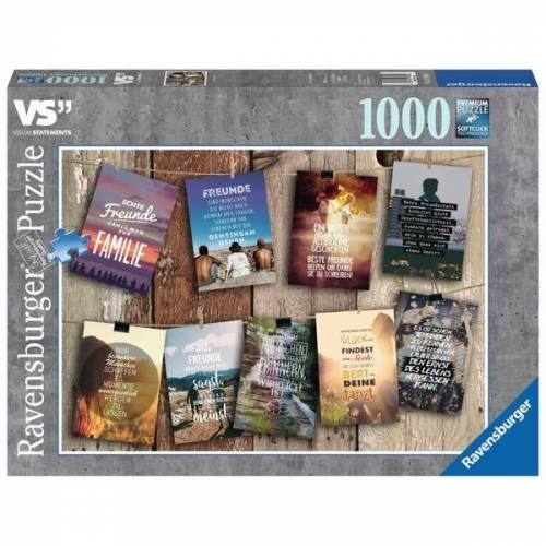 Ravensburger Premium-Puzzle: Visual Statements, 1000 Teile