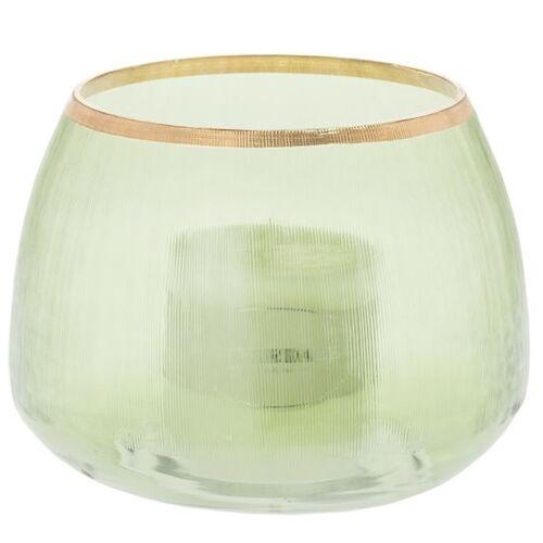Riverdale Windlichter ohne Henkel Teelichthalter Blair grün 19 cm (grün)